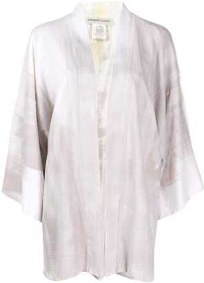 Lamberto Losani Reversible Kimono Cardigan