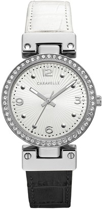Bulova Caravelle by Women's Reversible Leather Strap Watch