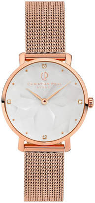 Christian Paul GWR3419 Reef Rose Gold
