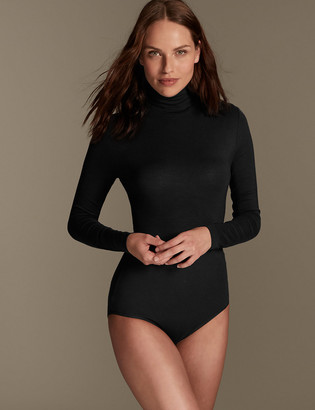 Marks and Spencer Heatgen Thermal Polo Neck Body