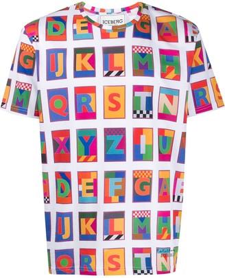 Iceberg x Peter Blake printed T-shirt