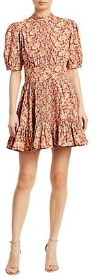 By Ti Mo Floral Mini Dress