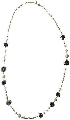 Chanel White Pearls Long necklaces