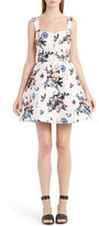 Valentino Enchanted Jungle Brocade Dress