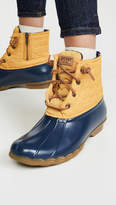 Sperry Saltwater Chevron Lace Up Boots