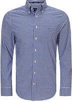 Gant Regular Fit Poplin Gingham Shirt, Yale Blue