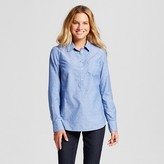 Merona Women's Favorite Shirt Blue