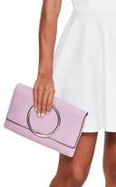Missguided Circle Handle Clutch - Purple