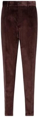 Dolce & Gabbana Slim Fit Corduroy Pants