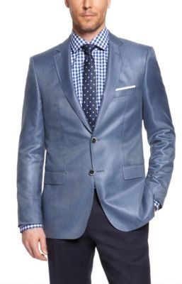 HUGO BOSS 'T-Lord' - Regular Fit, Italian Silk Tailored Sport Coat