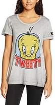 Frog Box FROGBOX Women's Tweety T-Shirt,(manufacturer Size: 34)