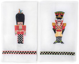 Mackenzie Childs MacKenzie-Childs Palace Guards Guest Towels, Set of 2
