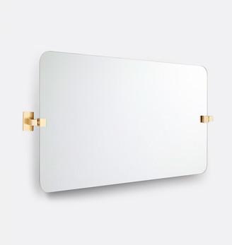 Rejuvenation Yaquina Frameless Wide Rectangle Pivot Mirror