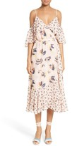 Tanya Taylor Women's Amylia Abstract Floral Print Silk Dress
