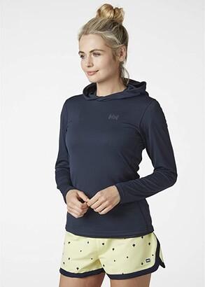 Helly Hansen Lifa Active Solen Hoodie (Navy) Women's Clothing