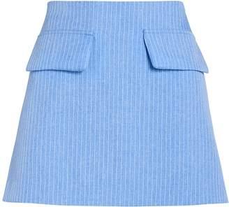 Maggie Marilyn Short and Sweet Pinstripe Mini Skirt
