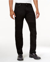 Lrg Men's Payola Tapered-Fit Pintucked Jeans