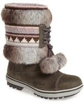 'Iskoras' Waterproof Leather Snow Boot (Women)