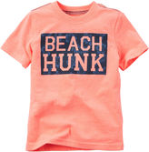 Carter's Short-Sleeve Hunk Tee - Toddler Boys 2t-5t