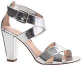 Mari metallic sandals