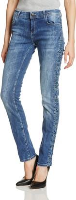 Desigual Women's Orense Denim Long Trouser