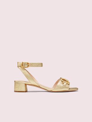 Kate Spade Lagoon Spade Chain Sandals