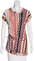 Missoni Printed Knit Tunic