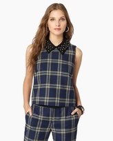 Eton Plaid Top