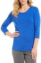 Investments Essentials 3/4 Sleeve Top