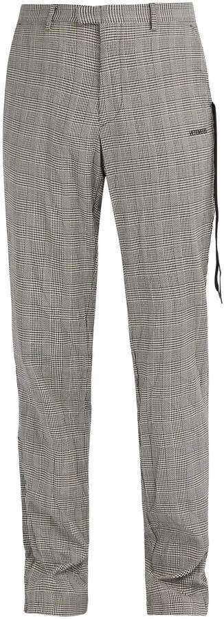 19644269 wrinkled suit trousers grey