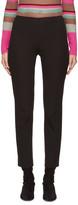Jil Sander Navy Black Legging Trousers