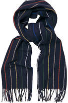Gant Multi Stripe Wool Scarf, Navy