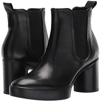 Ecco Shape Sculpted Motion 55 Chelsea Boot (Black) Women's Boots