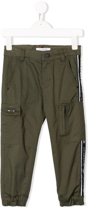 Givenchy Kids side-stripe trousers