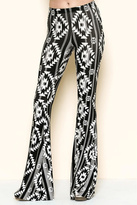 Solemio Printed Bell Bottoms