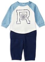 Ralph Lauren Infant Boys' Varsity Tee & Knit Pants Set - Sizes 3-12 Months