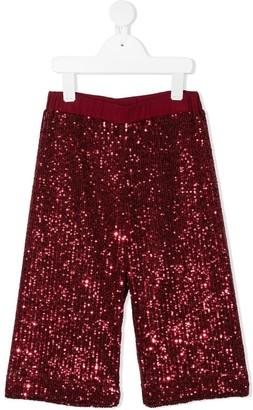 Piccola Ludo Tessi sequined trousers