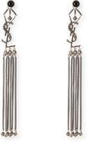 Saint Laurent Long Tassel Earrings