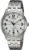 Citizen Men's BI1050-81B New Quartz Dial Wrist Watch