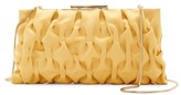 La Regale Gathered Frame Clutch