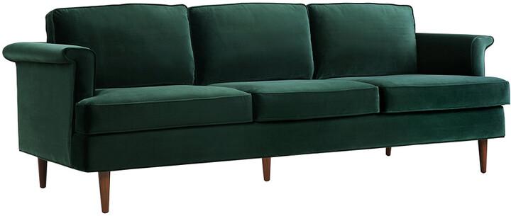 Tov Porter Forest Green Sofa