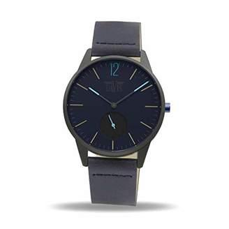 Davis Unisex Adult Analogue Quartz Watch with Leather Strap 2270