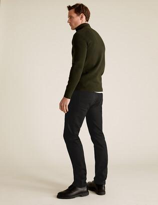 Marks and Spencer Shorter Length Skinny Fit Stretch Jeans