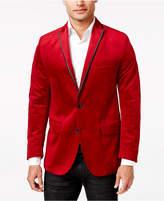 INC International Concepts I.N.C. Men's Rex Classic-Fit Velvet Blazer, Created for Macy's