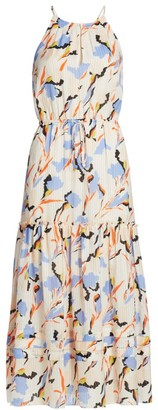Joie Huston Floral Midi Dress