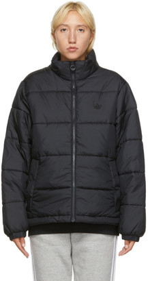 adidas Black Insulated Winter Jacket
