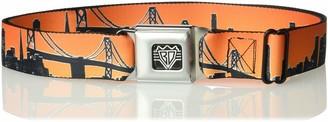 Buckle Down Buckle-Down Unisex-Adult's Seatbelt Belt San Francisco Regular