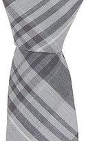 Original Penguin Conrad Plaid Skinny Cotton Tie