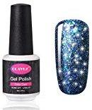 CLAVUZ Starry Gel Nail Polish Soak Off Super Bling Nail Lacquer Glitter Galaxy Manicure Nail Art Vanish 8ml