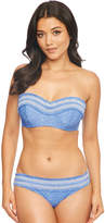 Figleaves Rhode Island Smock Underwired Bandeau Bikini Top